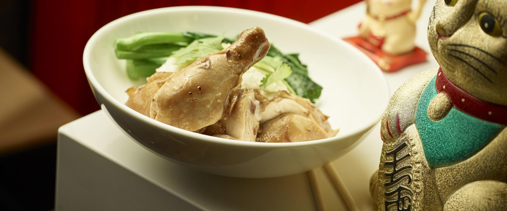 A delicious soy chicken rice bowl from MRKT East