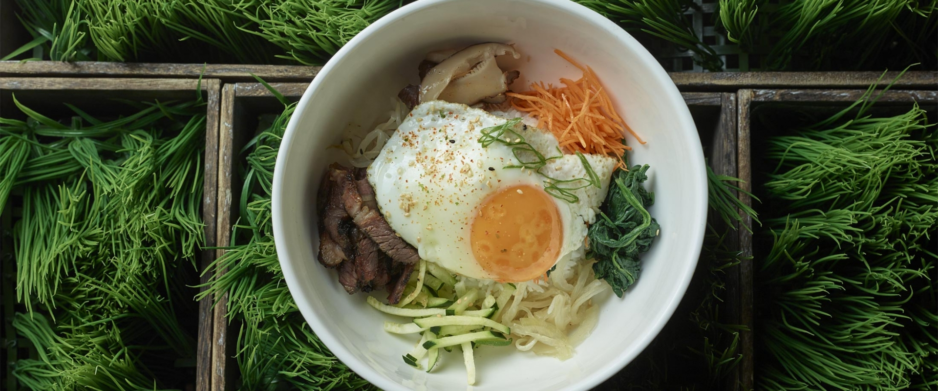 Mouth-watering bibimbap from MRKT East