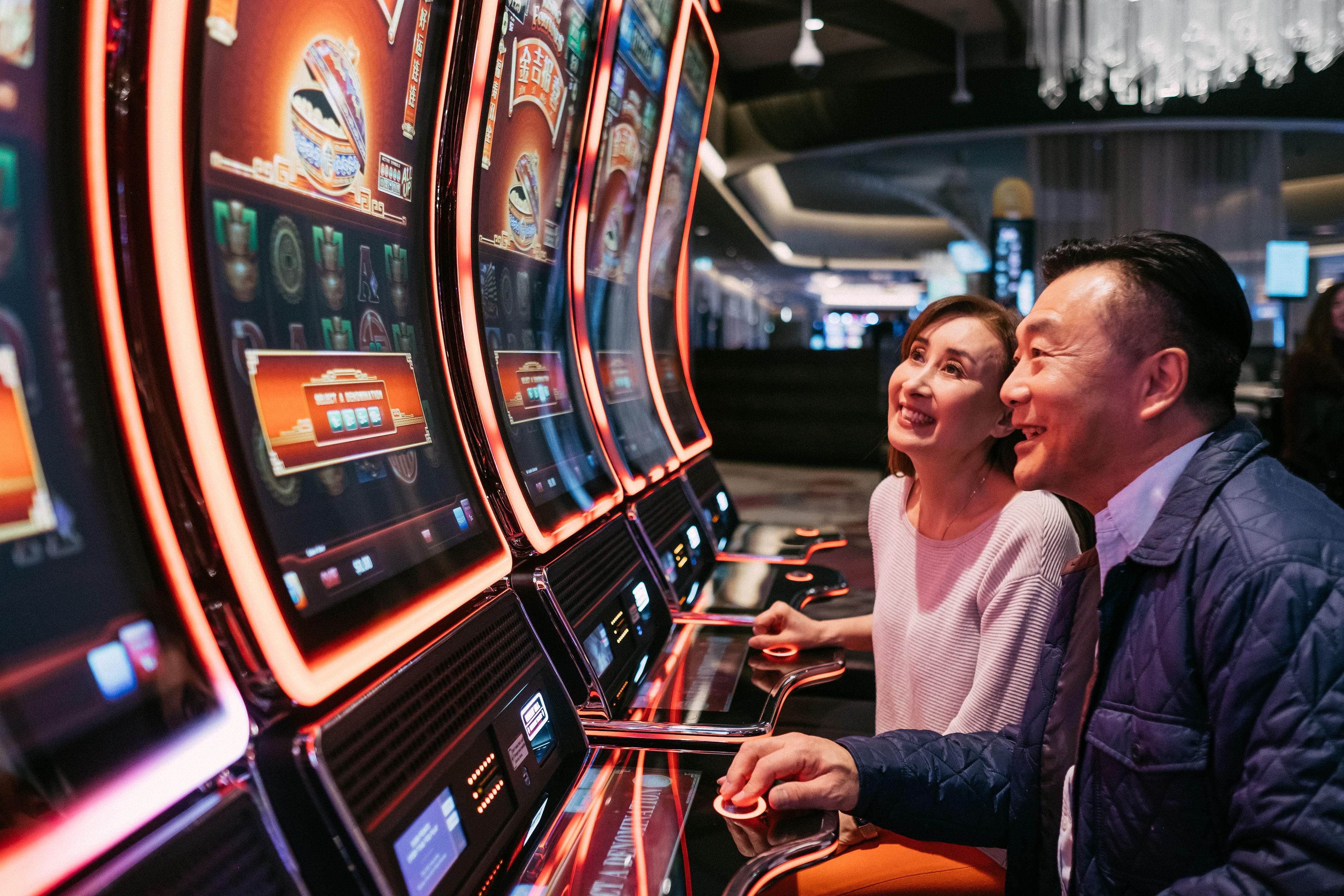 Slot Machines at Parq Casino | Parq Vancouver